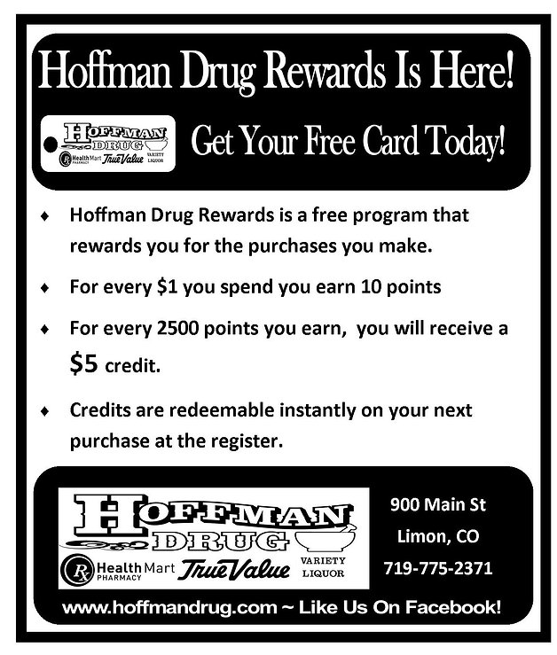 Hoffman Drug Rewards is here, get your free card today