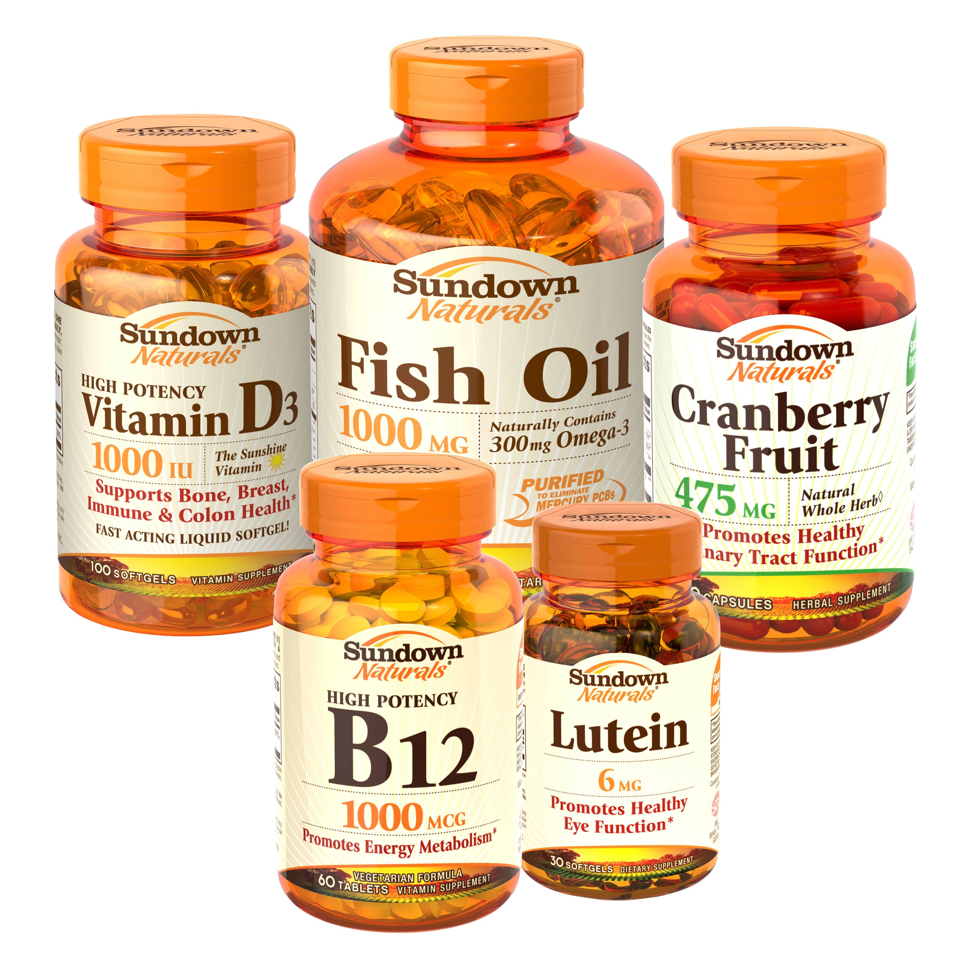 Multiple Vitamin Bottles