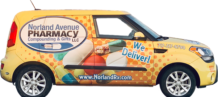 Norland Avenue Pharmacy Delivery Car