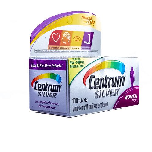 Centrum Silver Women Complete Multivitamin angle view