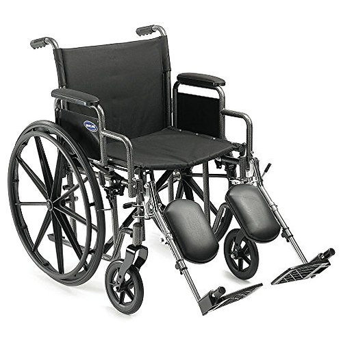 Wheelchair front view