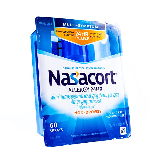 Nasacort Allergy 24 Hour Spray angle view