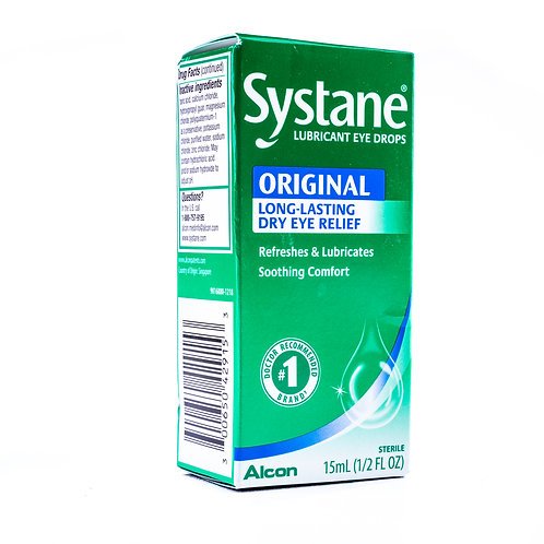 Systane Lubricant Eye Drops angle view
