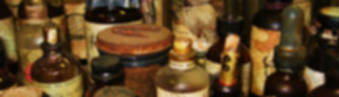Apothecary Antiques, old bottles