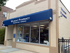Wilmont Pharmacy, Scarsdale storefront, New York storefront