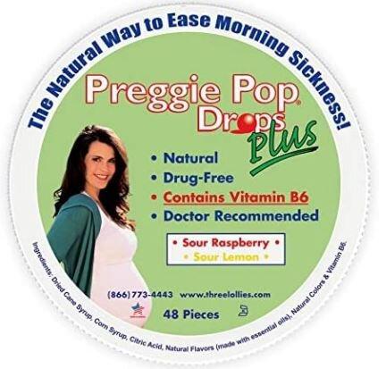 Preggie Pop Drops Plus Container