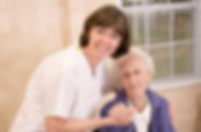 Pharmacist with old lady