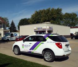 Newton Medicap Store & Delivery car