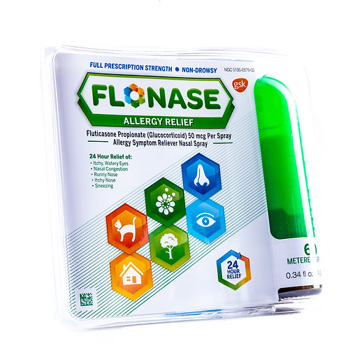 Flonase 24 Hour Allergy Relief Nasal Spray angle view