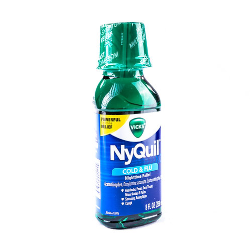 Vicks NyQuil Cold & Flu Relief angle view