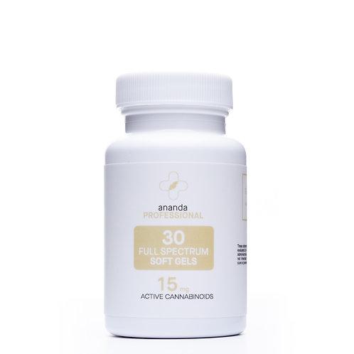 Ananda Professional Full-Spectrum Softgels | 30 count