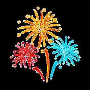 Fireworks clipart
