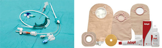 urological supplies, catheters and bags