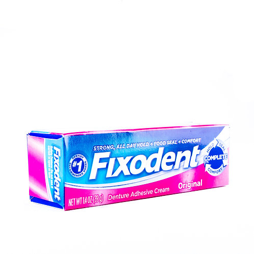 Fixodent Complete Denture Adhesive Cream angle view