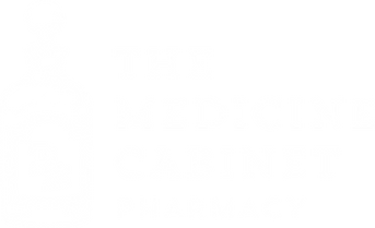 The Medicine Cabinet White Logo