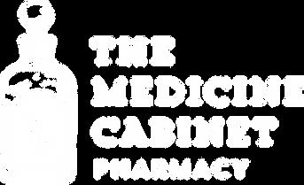 The Medicine Cabinet White Logo