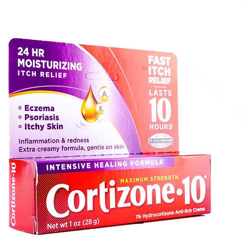 Cortizone 10 Intensive Healing Cream angle view