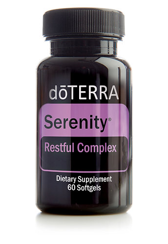 Serenity Softgels | Restful Complex