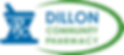 dillon community pharmacy logo