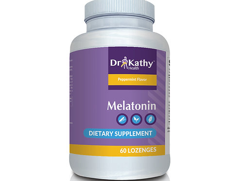 Dr. Kathy Health Melatonin Bottle