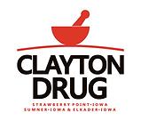 Clayton Drug Logo