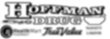 Hoffman Drug Pharmacy, True Value, Variety logo