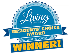 Living Magazine Resident's Choice Award Winner Warren County 2019
