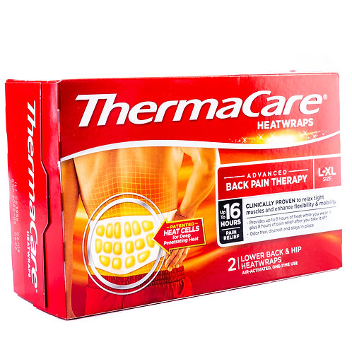 ThermaCare Advanced Lower Back & Hip Heatwraps angle view