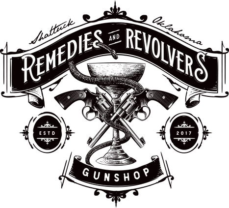 Remedies & Revolvers logo