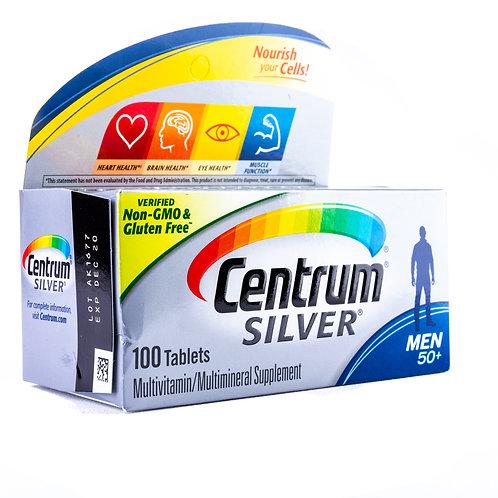 Centrum Silver Men 50+ Multivitamin angle view