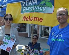 playa pharmacy outing community sponsorship