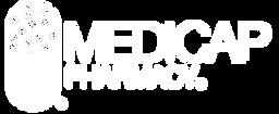 Medicap Pharmacy white logo