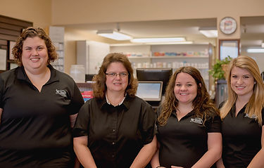 4 Dillon Community Pharmacy Staff members smiling