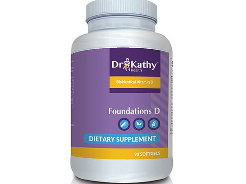 Dr. Kathy Health Foundations D Bottle