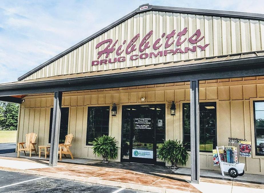 Hibbitts Drug Co Storefront