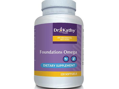 Dr. Kathy Health Foundations Omega Bottle