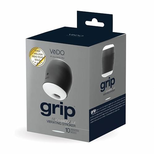 VeDO Grip Rechargeable Vibrating Stroker