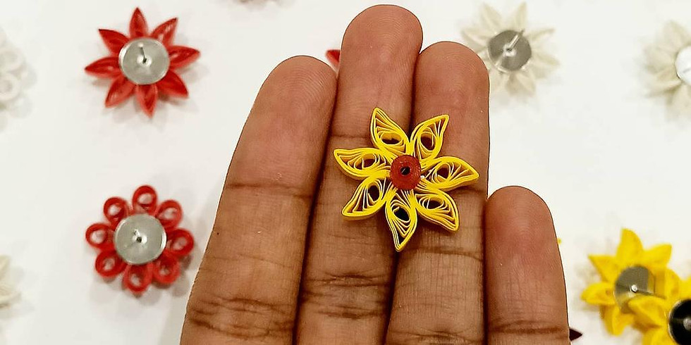 Paper Quilling Jewellery $75