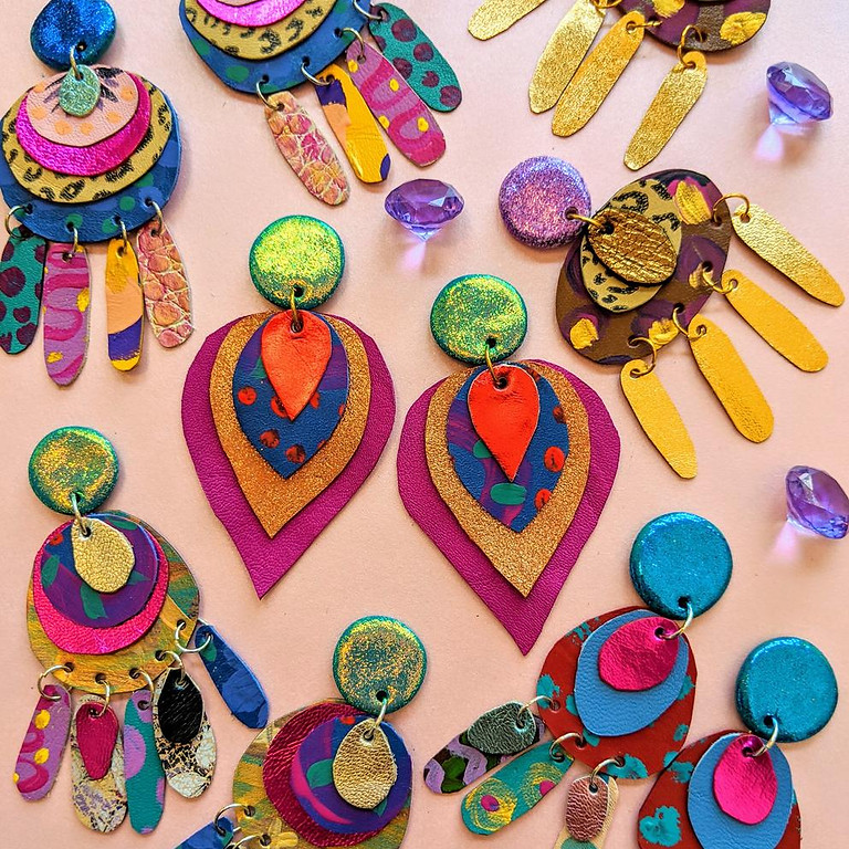 Leather Jewellery Making $90