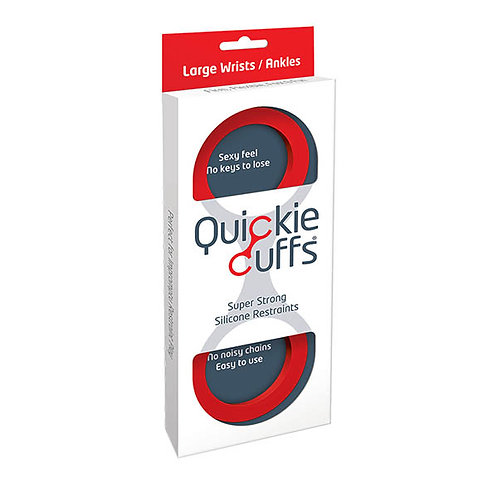 Quickie Cuffs - Red Large