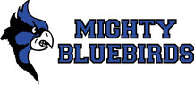 White Background Mighty-Bluebirds Full L