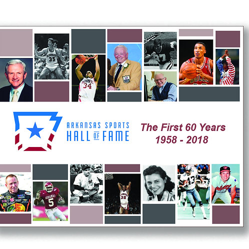 Arkansas Sports Hall of Fame, The First 60 Years