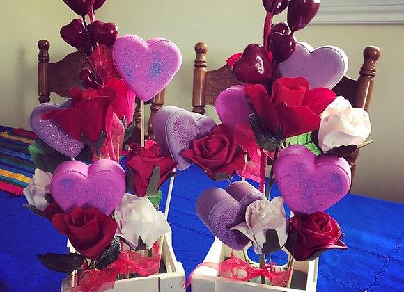 Bath Bomb Bouquet by catchesoaps