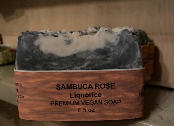 Sambucca rose vegan soaps