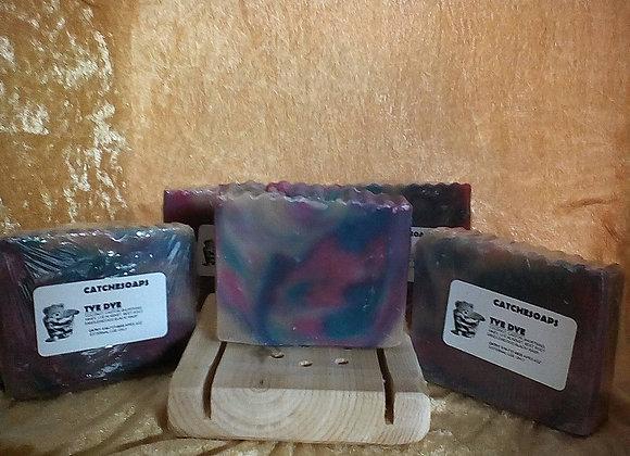 Tye Dye vegan soap