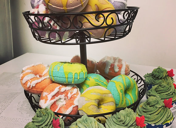 Donut Bath Bombs by catchesoaps