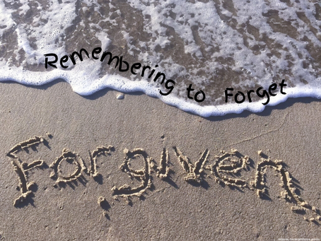 Day 5: Remember to Forget