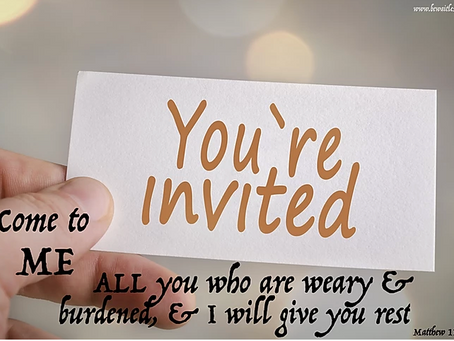 Day 29: You're Invited