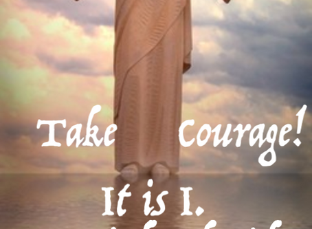 Day 32: Take Courage