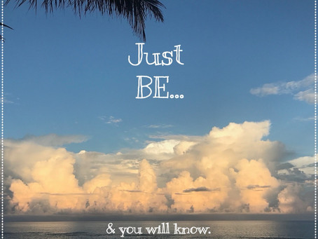 Revelation #14: Just Be